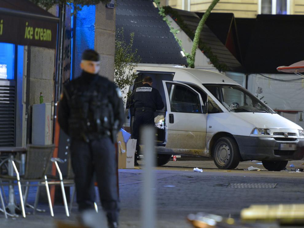 Accidente en Nantes (Francia)