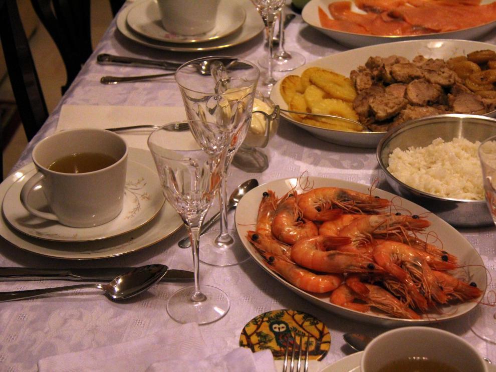 La Navidad es una época propensa a los excesos en la alimentación.