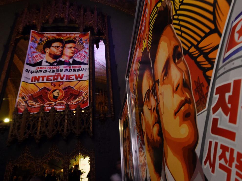 La película 'The Interview' se estrenará el 25 de diciembre en algunos cines de Estados Unidos