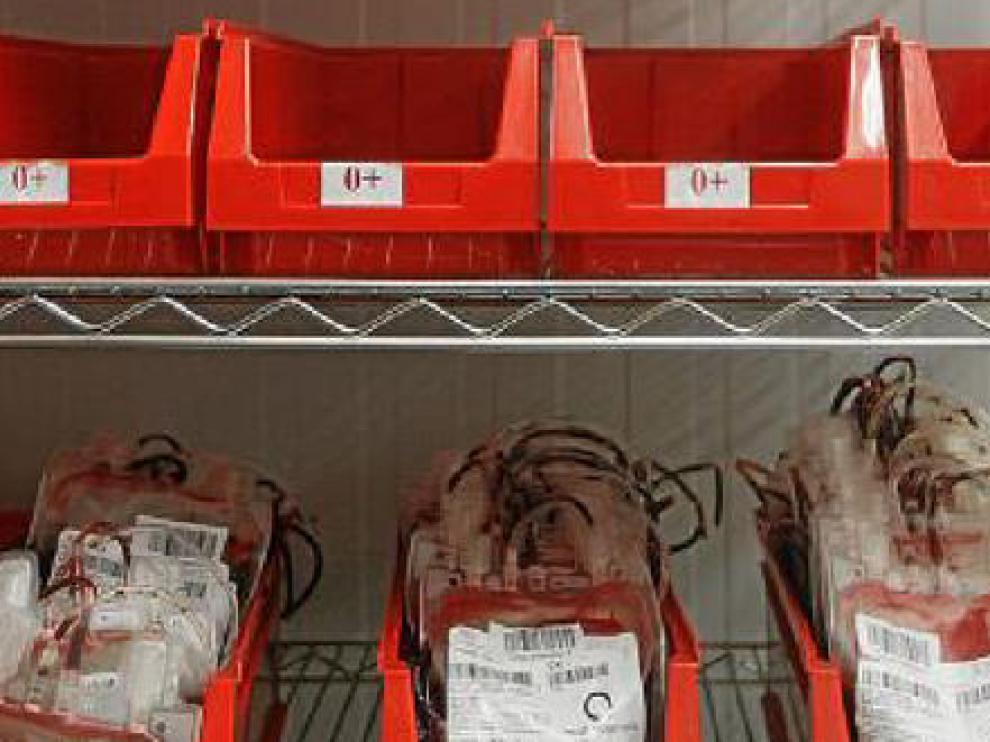 La donación de sangre desciende casi un 6% en el último año