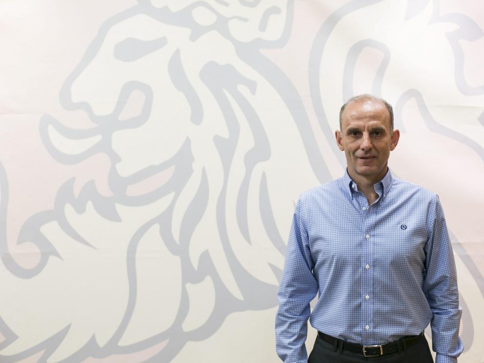 Ángel Martín González, director deportivo del Real Zaragoza