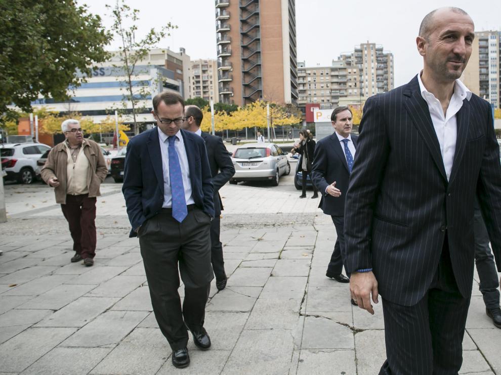 Popovic y Christian Lapetra se dirigen a La Romareda