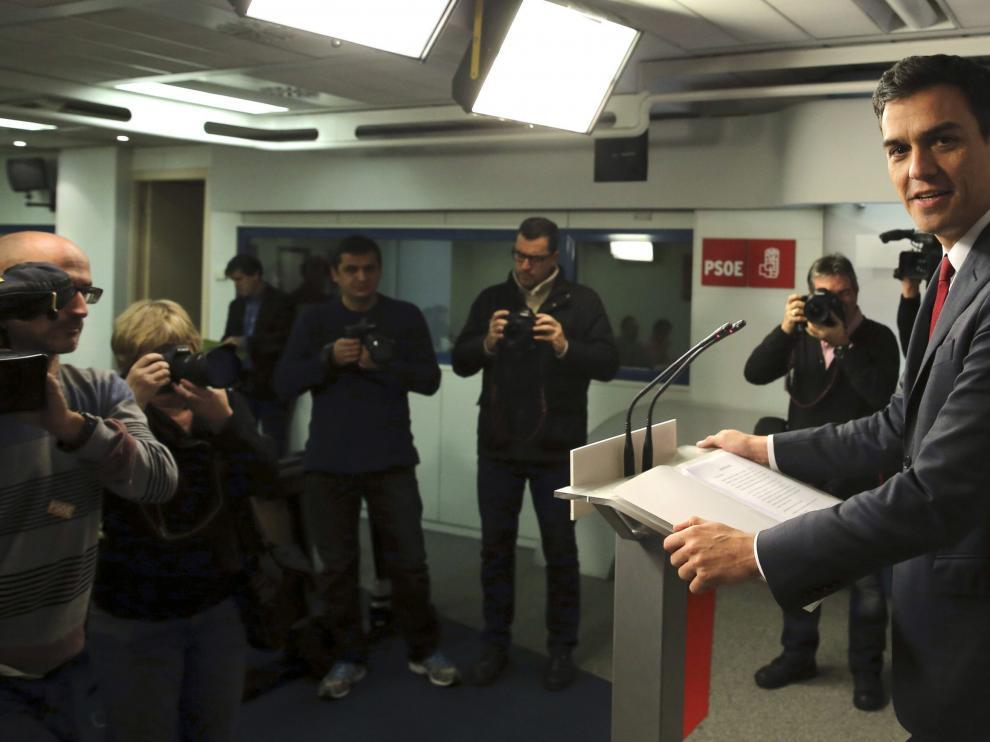Pedro Sánchez, haciendo balance del año la semana pasada