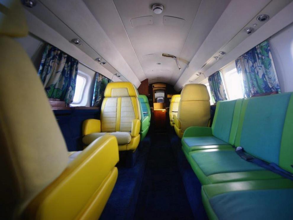 Los aviones privados de Elvis Presley, a subasta