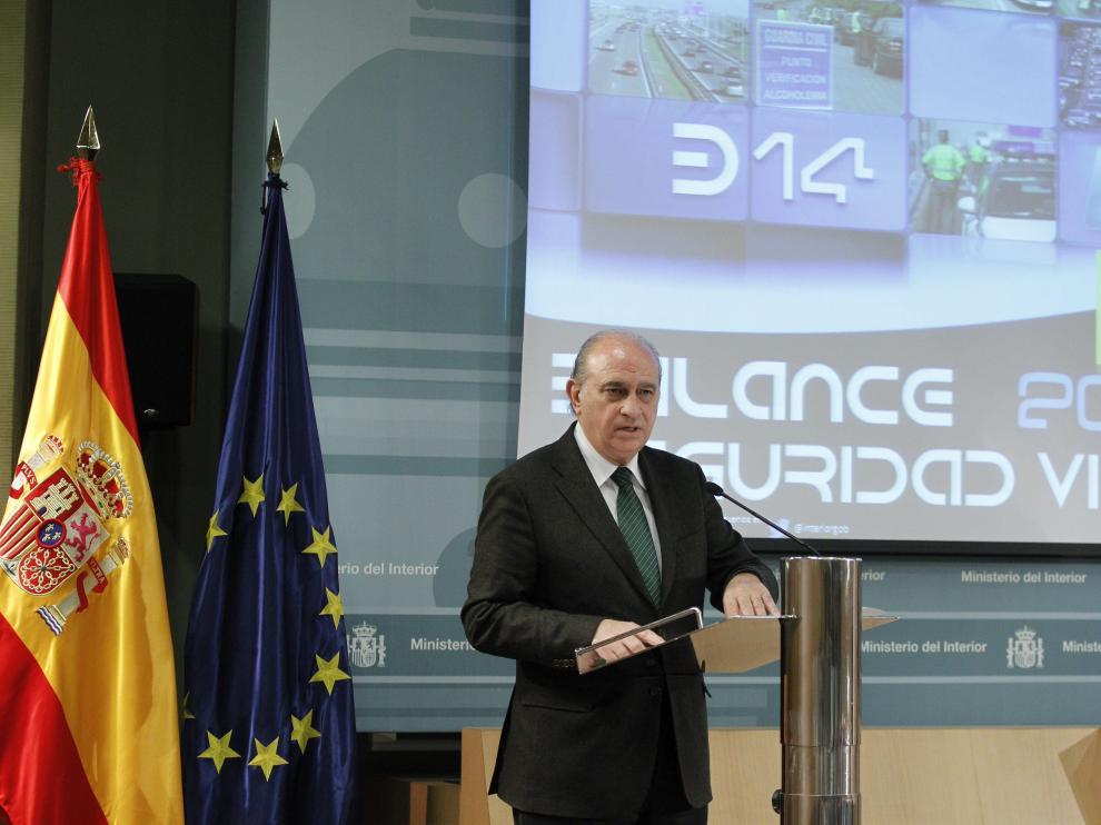 Fernández Díaz presentó el balance de tráfico de 2014
