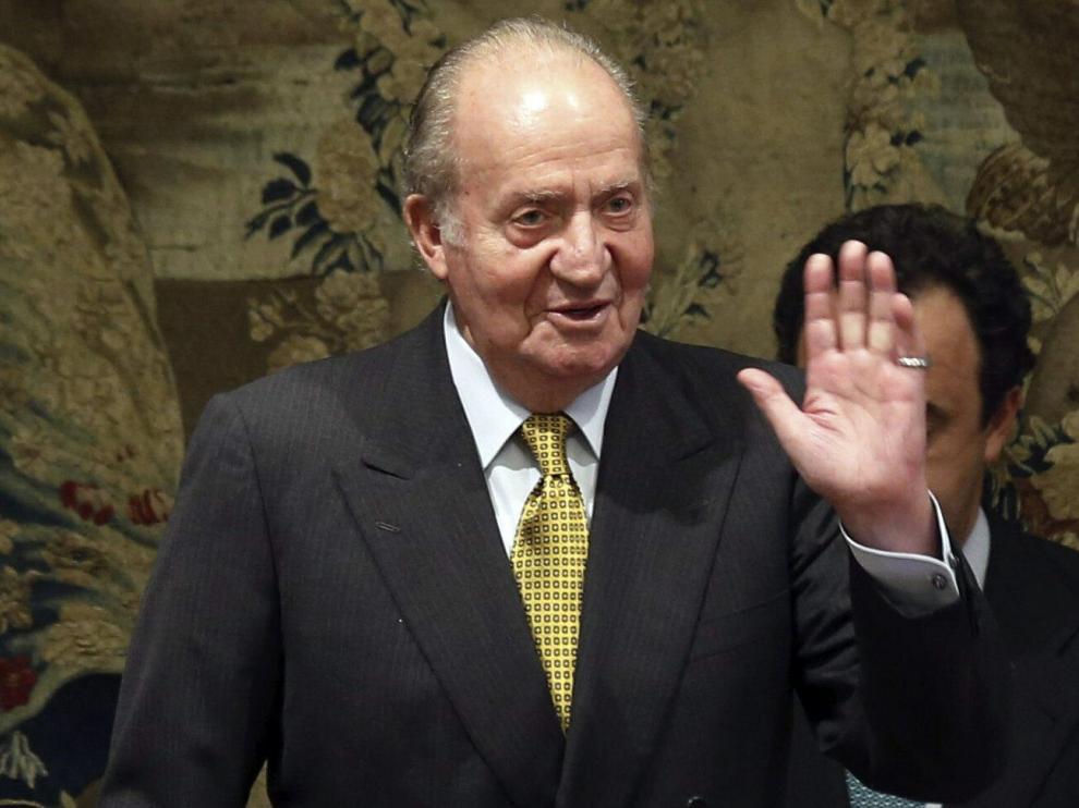 Don Juan Carlos en una foto de archivo.