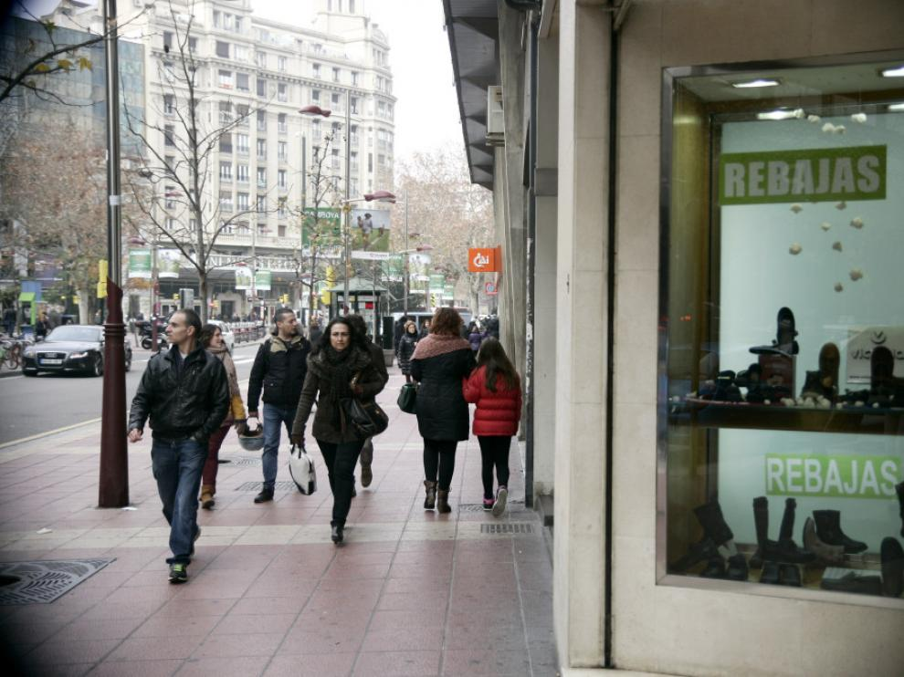 Rebajas en Zaragoza