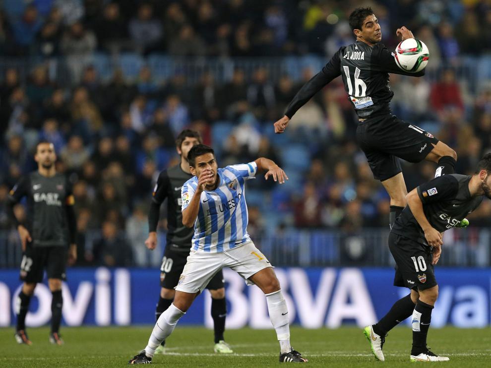 El Málaga dio el primer zarpazo en la eliminatoria de octavos de final