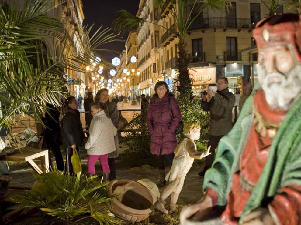 La Muestra Navideña y el Belén de la plaza del Pilar tuvieron 384.000 visitantes