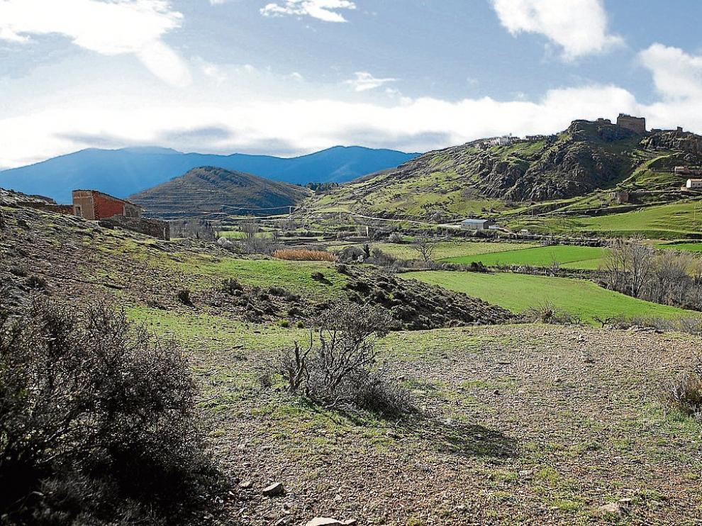 El yacimiento arqueológico de Aranda de Moncayo.