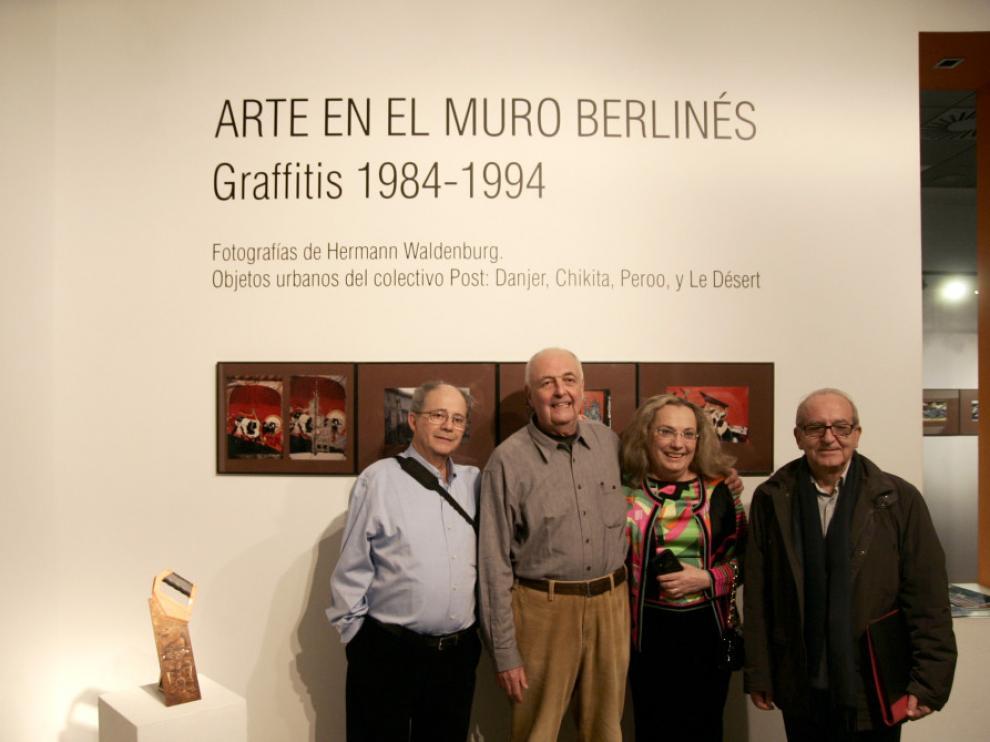Carlos Barboza, Hermann Waldenburg, Teresa Grasa y Julio Sánchez Millán