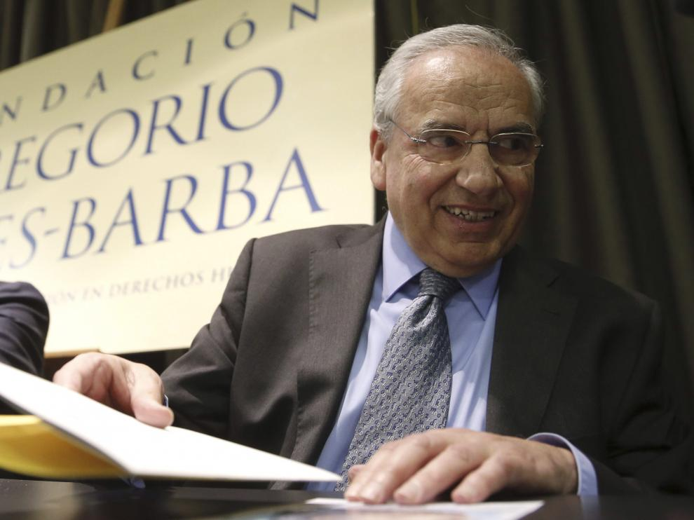 El exvicepresidente del Gobierno y exdiputado del PSOE, Alfonso Guerra