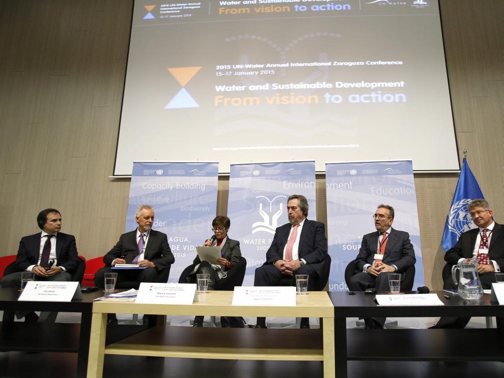 Cumbre de la ONU sobre el agua en Zaragoza