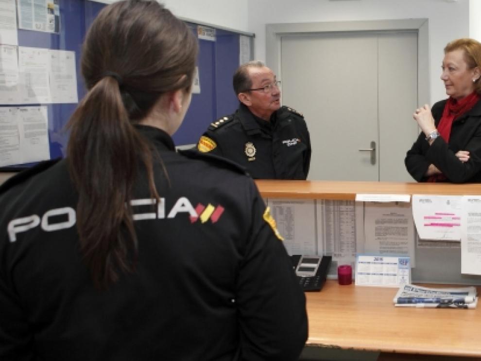 La Unidad de Policía Nacional adscrita a Aragón estrena sede