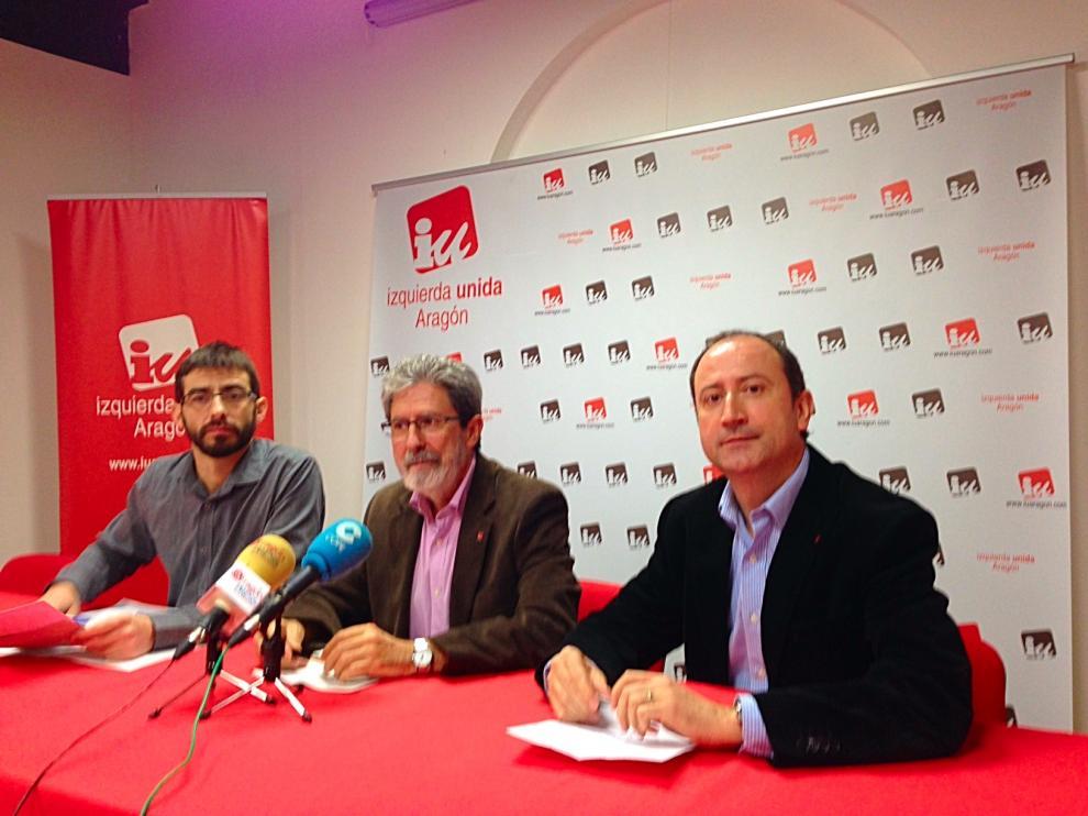 Presentación del proceso de primarias en IU-Aragón