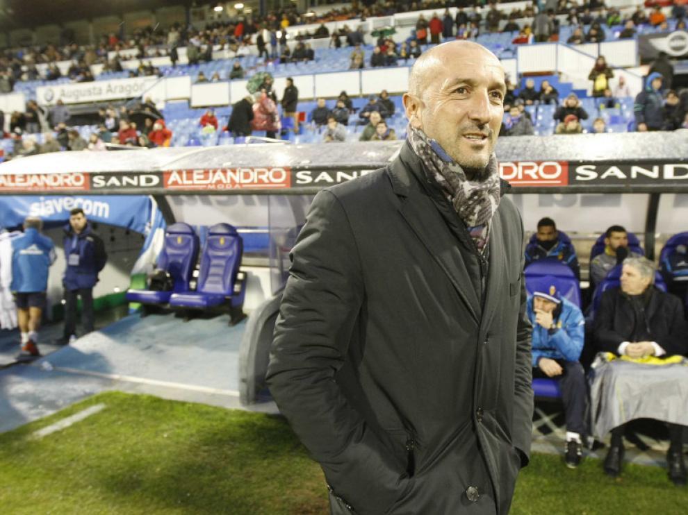 Popovic, durante el partido contra el Leganés