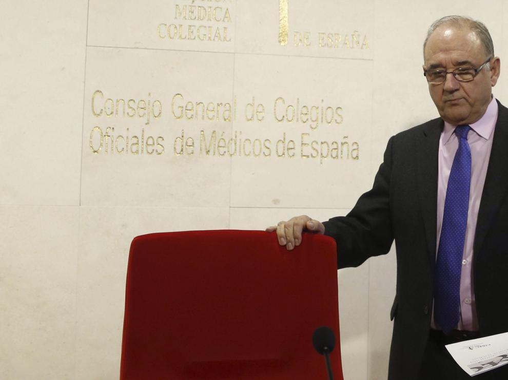El presidente de la Organización Médica Colegial, Juan José Rodríguez Sendín.