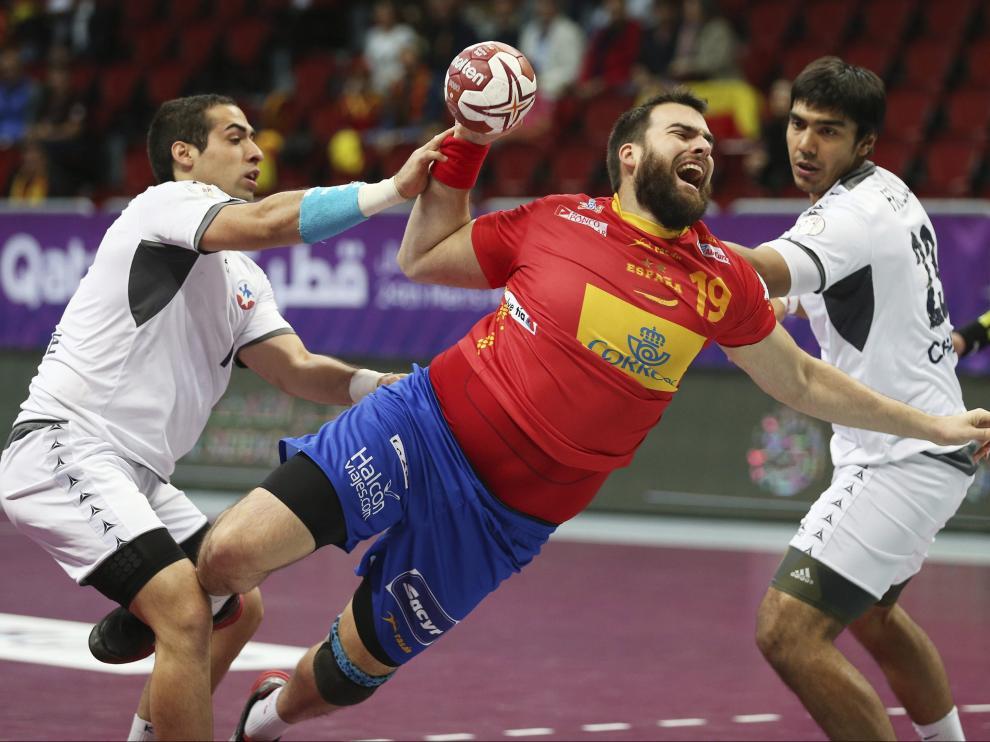 España- Chile, Mundial Balonmano