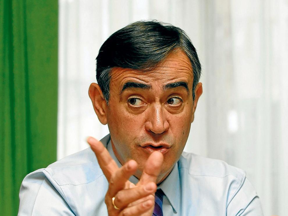 El presidente de la Diputación, Antonio Pardo, en una fotografía de archivo