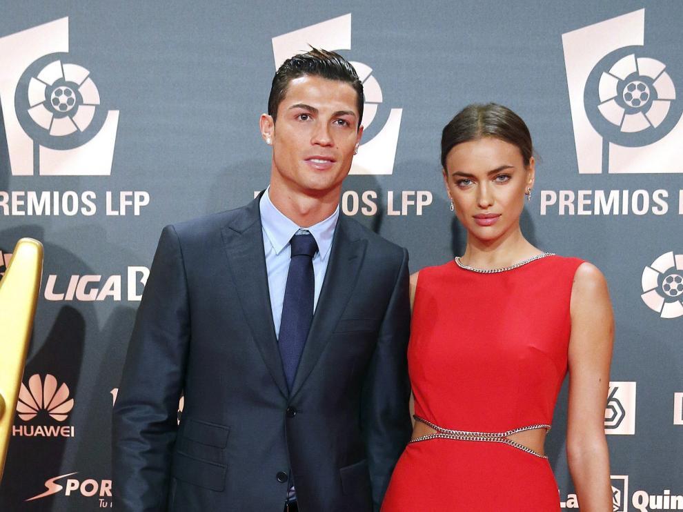 Cristiano Ronaldo y su expareja Iryna