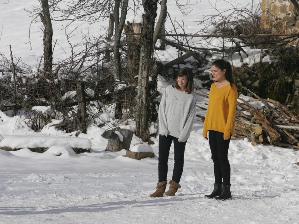 El equipo de de 'Palmeras en la nieve' ultima el rodaje