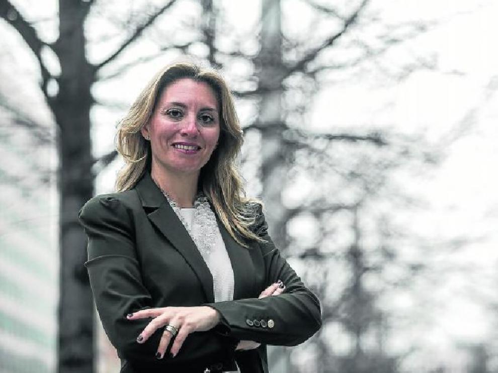 Marta Laiglesia, secretaria general dela Federación de Servicios de CC. OO. Aragón.
