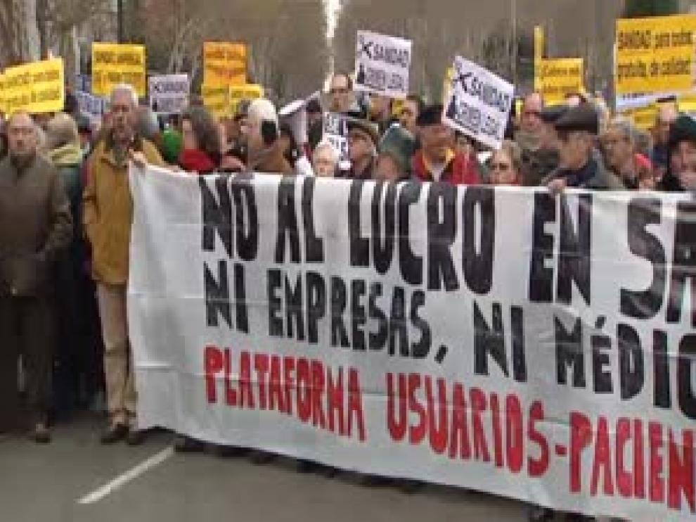 Los afectados de hepatitis C llevan sus protestas a Bruselas