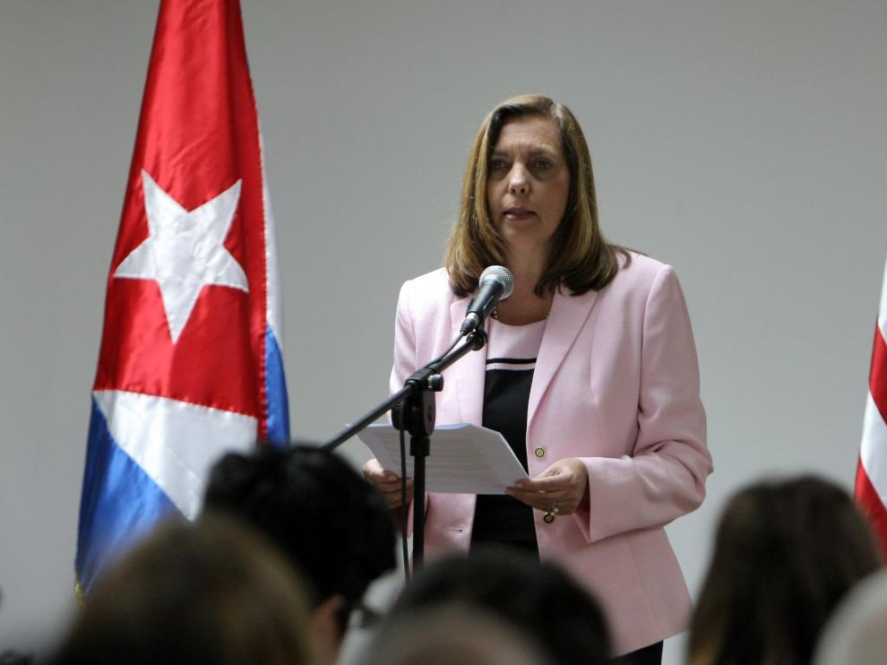 La directora general para EE. UU. del Ministerio de Exteriores de Cuba, Josefina Vidal