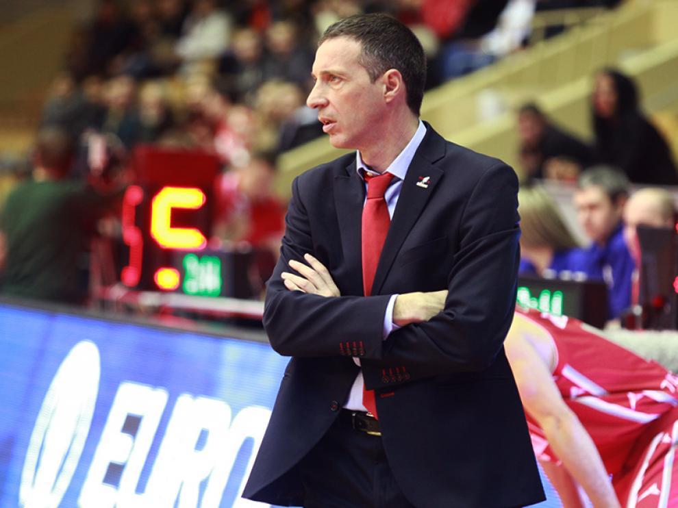 El técnico del CAI Zaragoza, Joaquín Ruiz Lorente