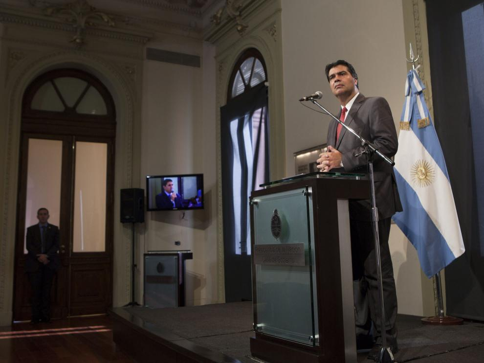 Jorge Capitanich, jefe de Gabinete del Gobierno argentino