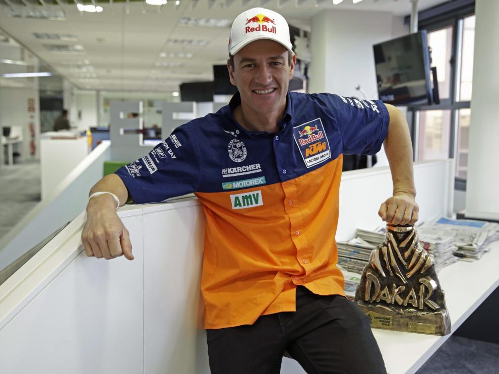 El piloto español Marc Coma