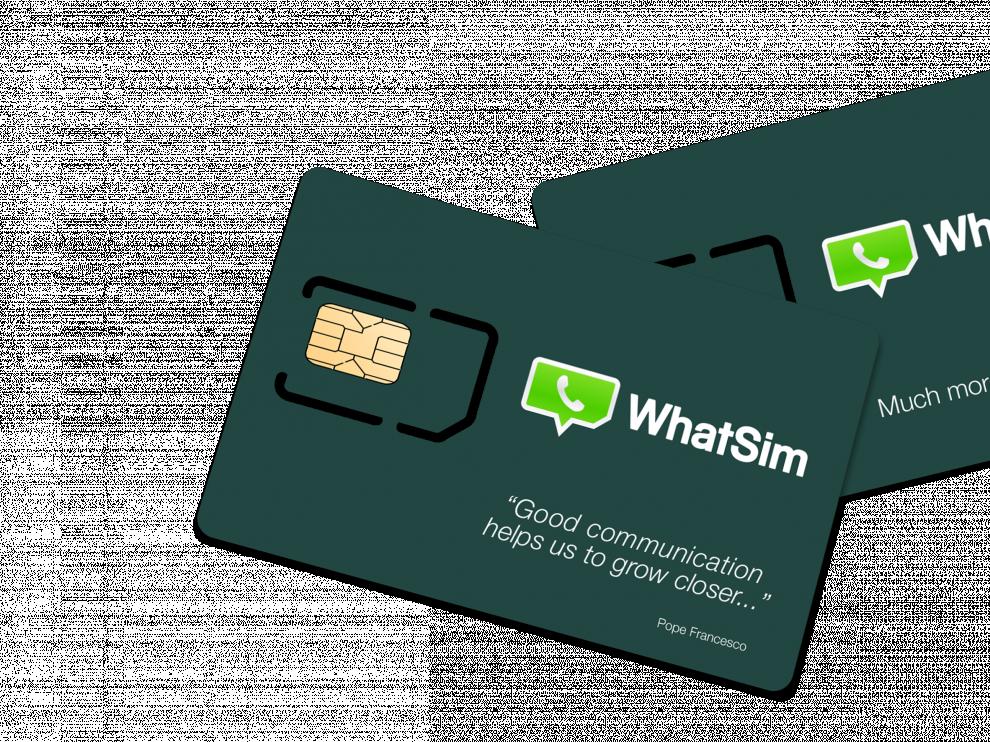 WhatSim llegará a finales de febrero