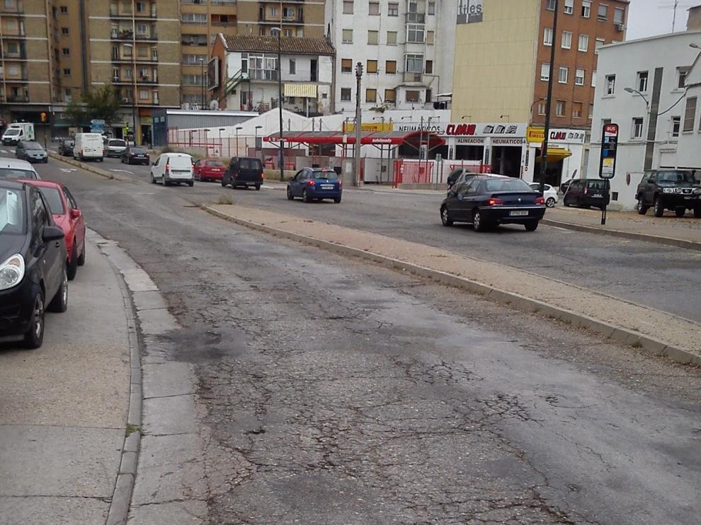 Avenida de la Industria, en Santa Isabel