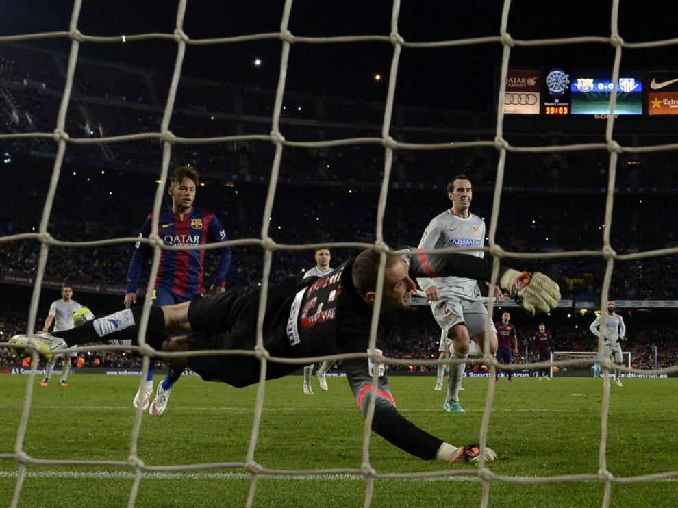 Gol de Messi frente al Atlético
