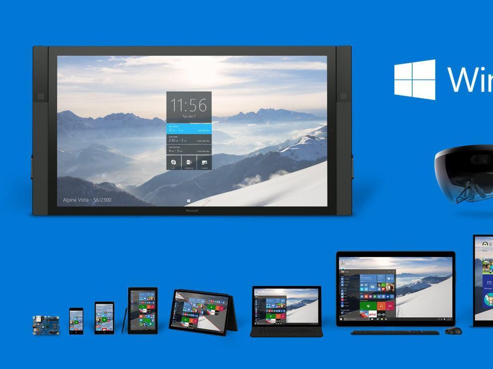 Varios dispositivos con Windows 10
