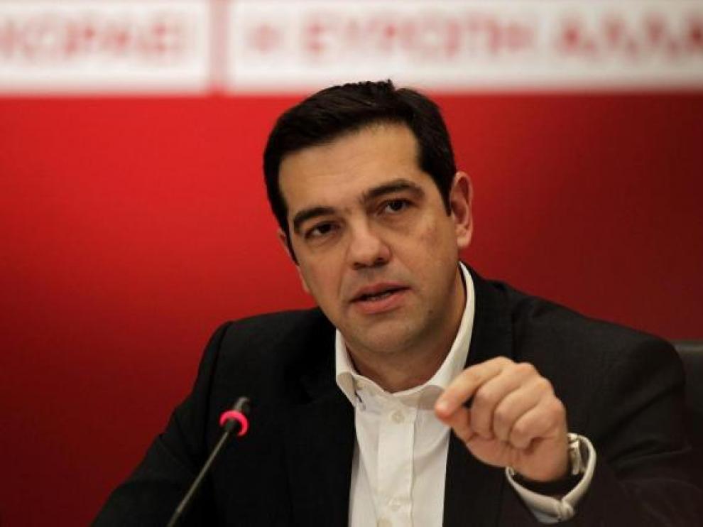 Tsipras recalca que Syriza quiere mayoría absoluta para negociar con fuerza