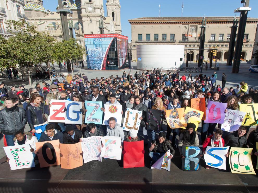 Concentración de los centros sociolaborales de Zaragoza