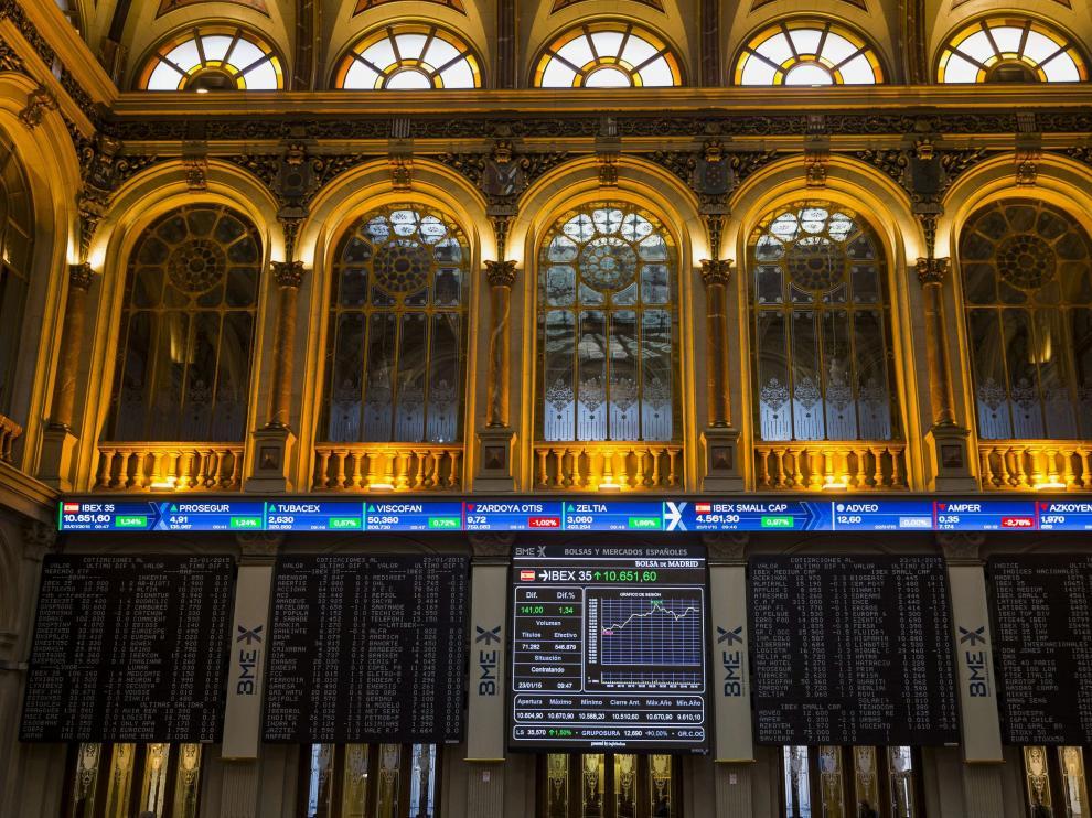 Salón de la Bolsa de Madrid