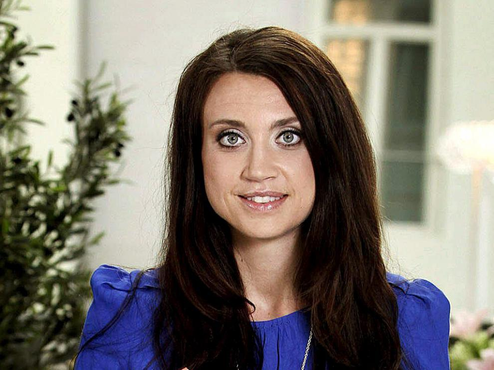 La escritora sueca Camilla Läckberg