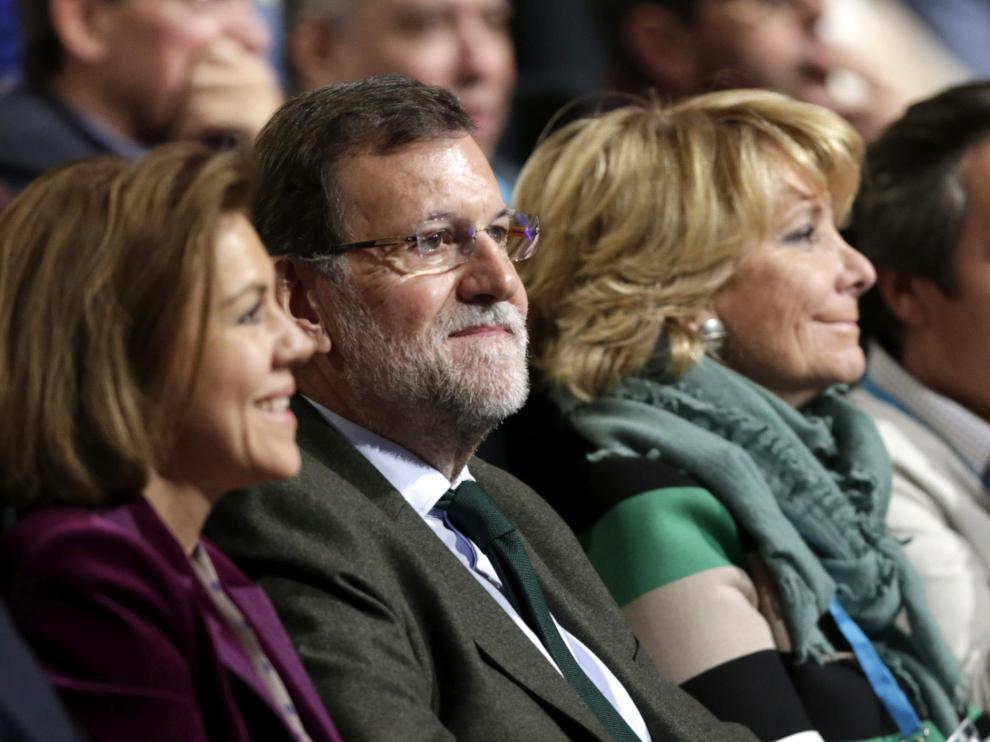 Cospedal, Rajoy, Aguirre y Floriano