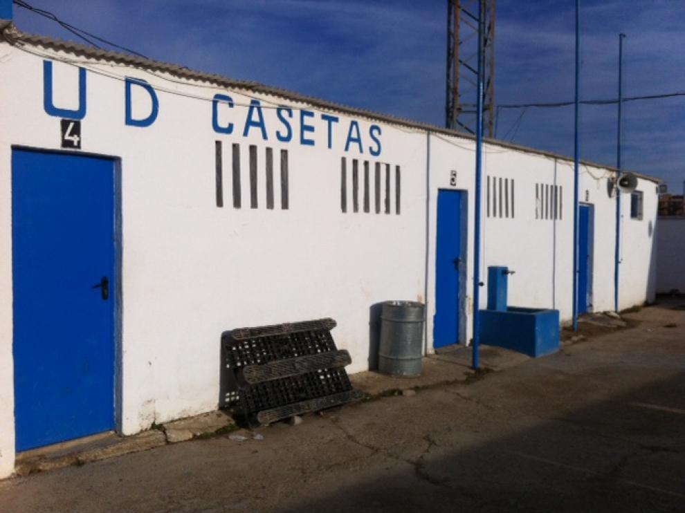 Instalaciones deportivas de Casetas