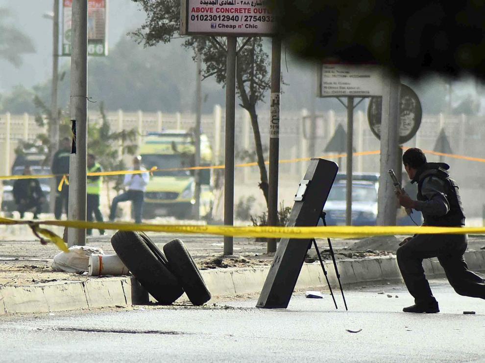 Represión policial en Egipto