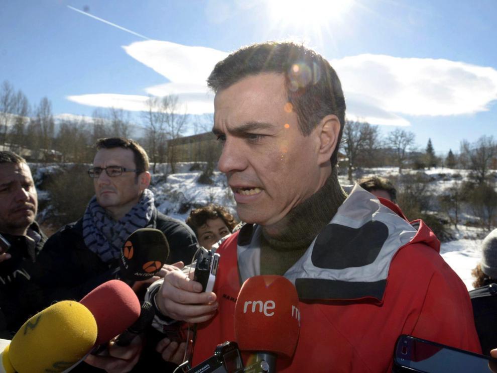 Pedro Sánchez en Segovia