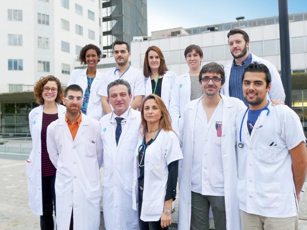 El equipo de Cirugía Digestiva y Trasplante del servicio de Cirugía Pediátrica del Hospital Maternoinfantil Vall d'Hebron.