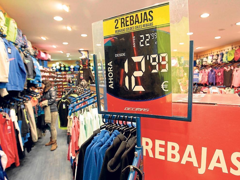 Las primeras semanas de rebajas han contribuido a un aumento de ventas.