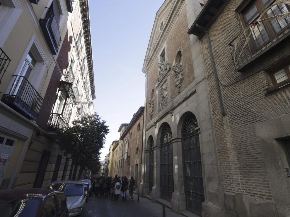 Convento de las trinitarias donde se está llevando a cabo la búsqueda