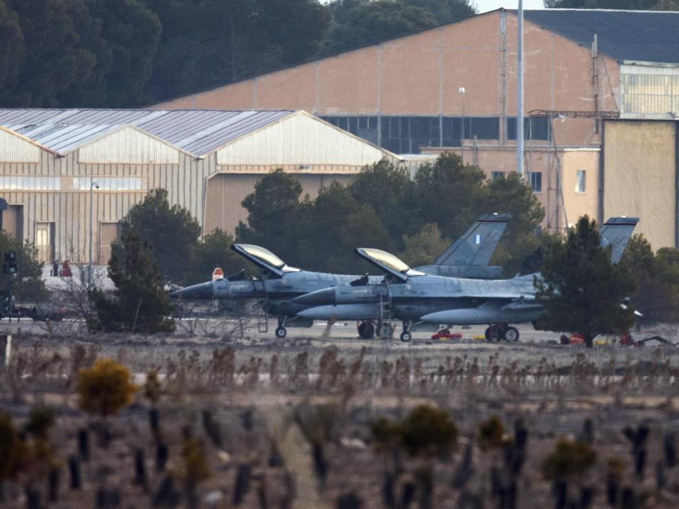 Continúan las labores de identificación de los cadáveres del accidente del F-16