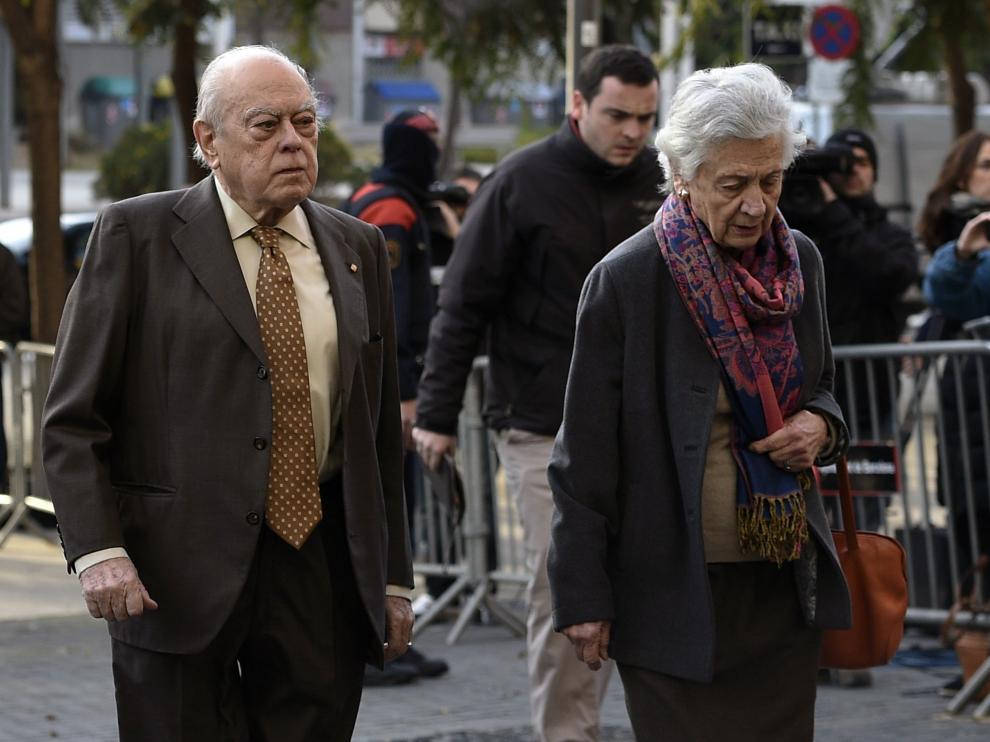 """Pujol al salir del juzgado: """"Las declaraciones las he hecho ante quien tenía que hacerlas"""""""