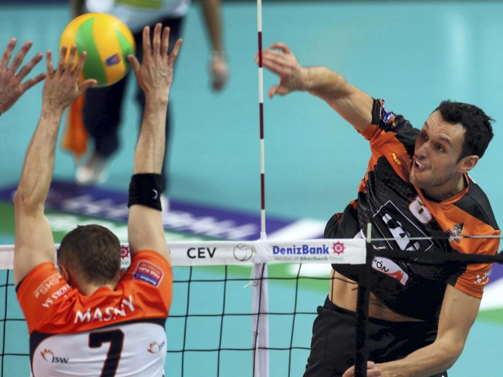 Jastrzebsky Wegiel 3-0 CAI Voleibol Teruel