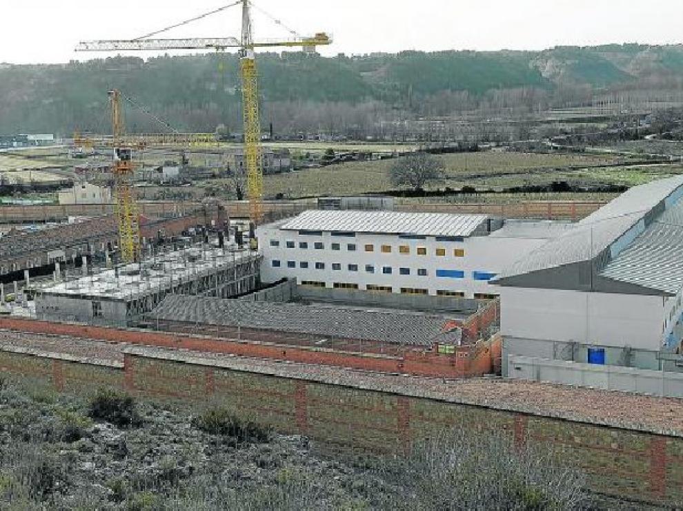 Las nuevas instalaciones se levantan en el solar del edificio anterior, demolido casi por completo.